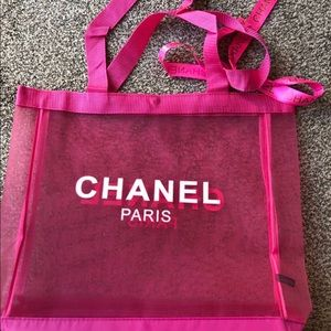 New Chanel VIP Gift Beach/Shopping Bag